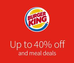 Up to 40% Off Burger King @ Moto Services via App