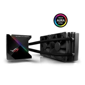 ASUS ROG Ryujin 240 All-in-One Liquid CPU Cooler with Colour OLED, VRM cooling, Aura Sync RGB and Noctua fans - £169.99 @ Amazon