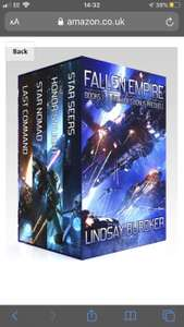 The Fallen Empire Omnibus (Books 1-3 and prequel) Free at Kindle Edition Amazon and apple
