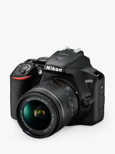 Nikon D3500 Digital SLR Camera with 18-55mm Lens £299 Delivered or Collected + 2 year guarantee included at John Lewis & Partners