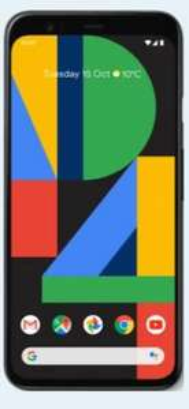 99p upfront - £33p/m - Google Pixel 4 64gb Just Black £792.99 at Mobiles.co.uk