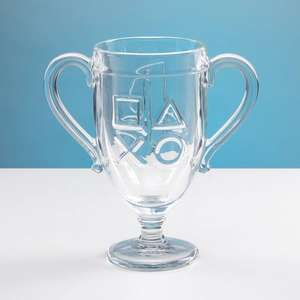 PlayStation Trophy Glass - £5.40 with code @ Debenhams