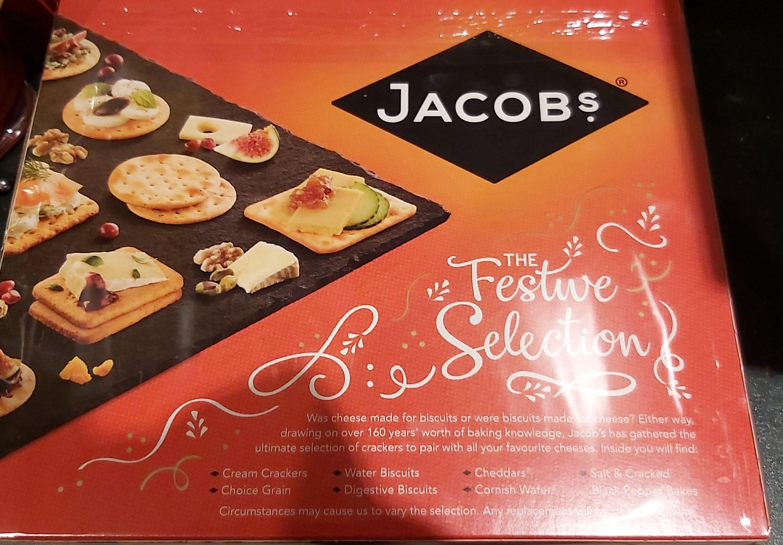 Jacobs Festive Selection 450g Crackers 80p Tesco National