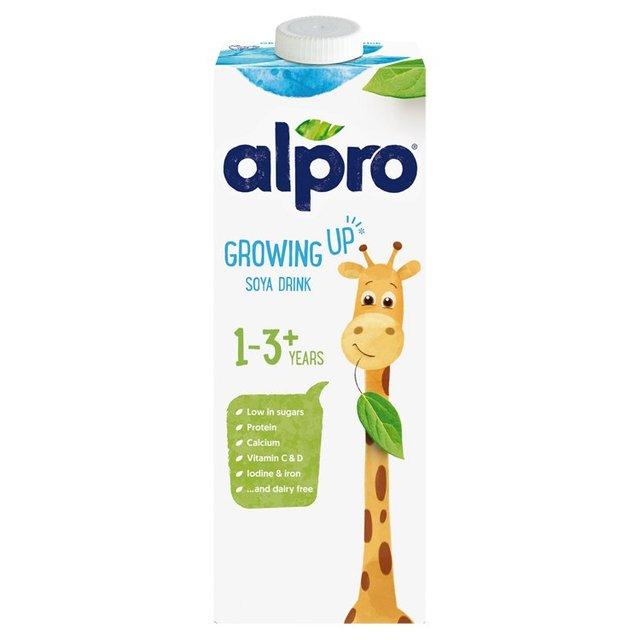 Alpro milk {Incl Growing up milk} - 3 for £3 - Online/Instore @ Morrisons