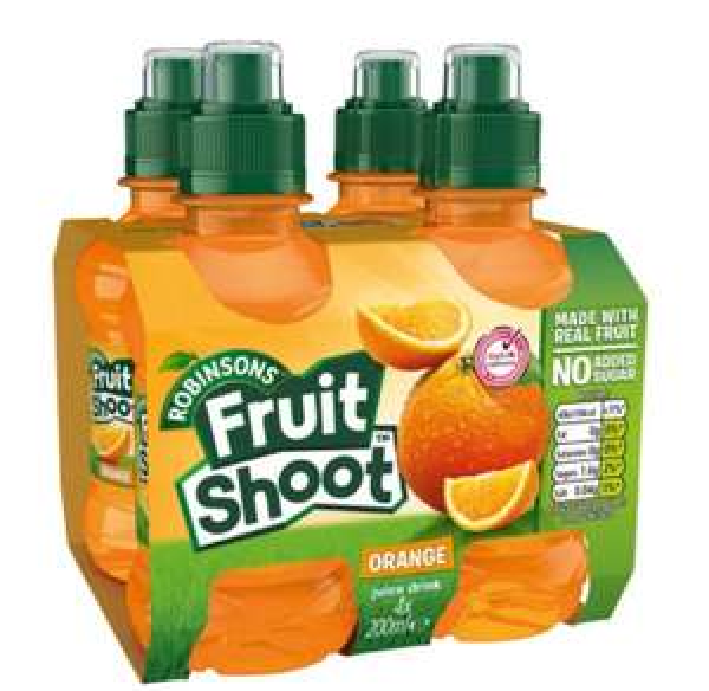 Fruit Shoots X 4 £0.90p - Orange/Summer Fruits/Blackcurrant 90p @ Tesco