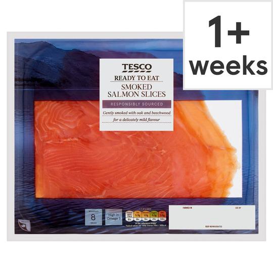 Tesco 240g smoked salmon £3.50 (Ayrshire Store)