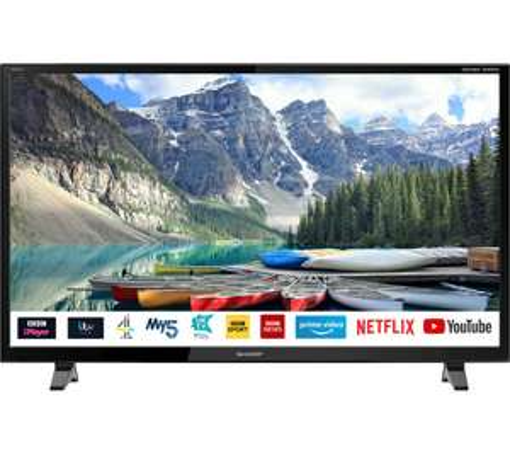 "SHARP 1T-C32BC0KO2FB 32"" Smart HD Ready LED TV £149 at Currys PC World"