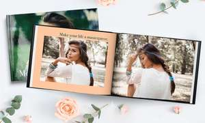 A4 Hardcover Photobooks with 30 Pages £1.99 by Printerpix on Groupon (£5.99 P&P)