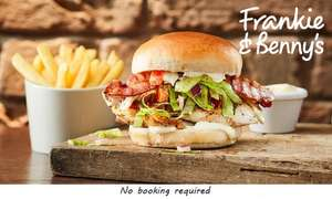 Two-Course A La Carte Meal for Two with Optional Wine to Share at Frankie & Benny's, £19.99 via Groupon