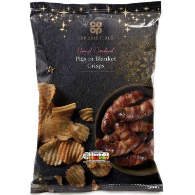 Coop Pigs in Blankets Crisps £1.28 @ Coop Food