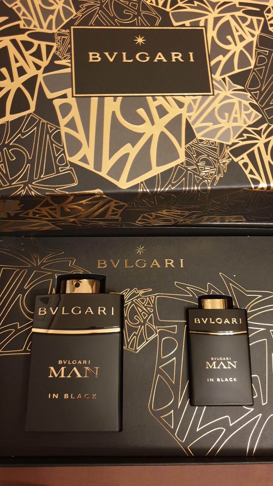 Bvlgari man in black 60ml + 15ml gift set - £35.69 Instore @ The Perfume Shop (London)
