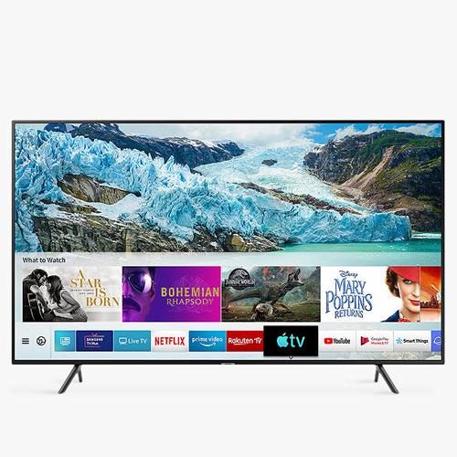 "Samsung UE50RU7100 (2019) HDR 4K Ultra HD Smart TV, 50"" with TVPlus & Apple TV App, Charcoal Black - £359 @ John Lewis & Partners"