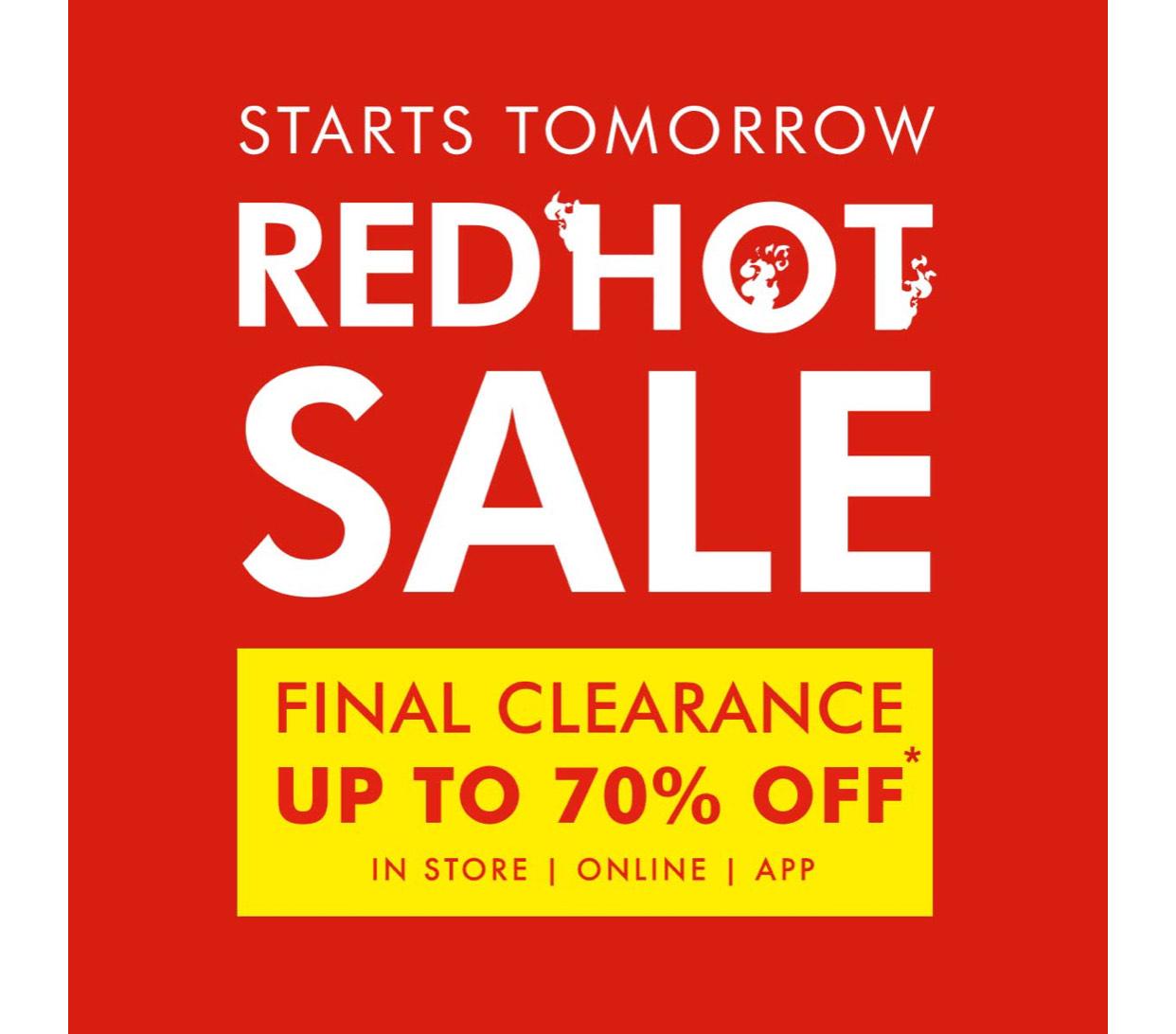 Upto 70% off sale + Free Click & Collect at Matalan