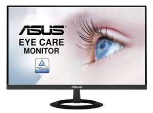 "ASUS VZ279HE 27"" Monitor, FHD (1920x1080), IPS, Ultra-Slim Design, HDMI, D-Sub, Flicker Free, Low Blue Light, TUV Certified £119.97 @ Amazon"