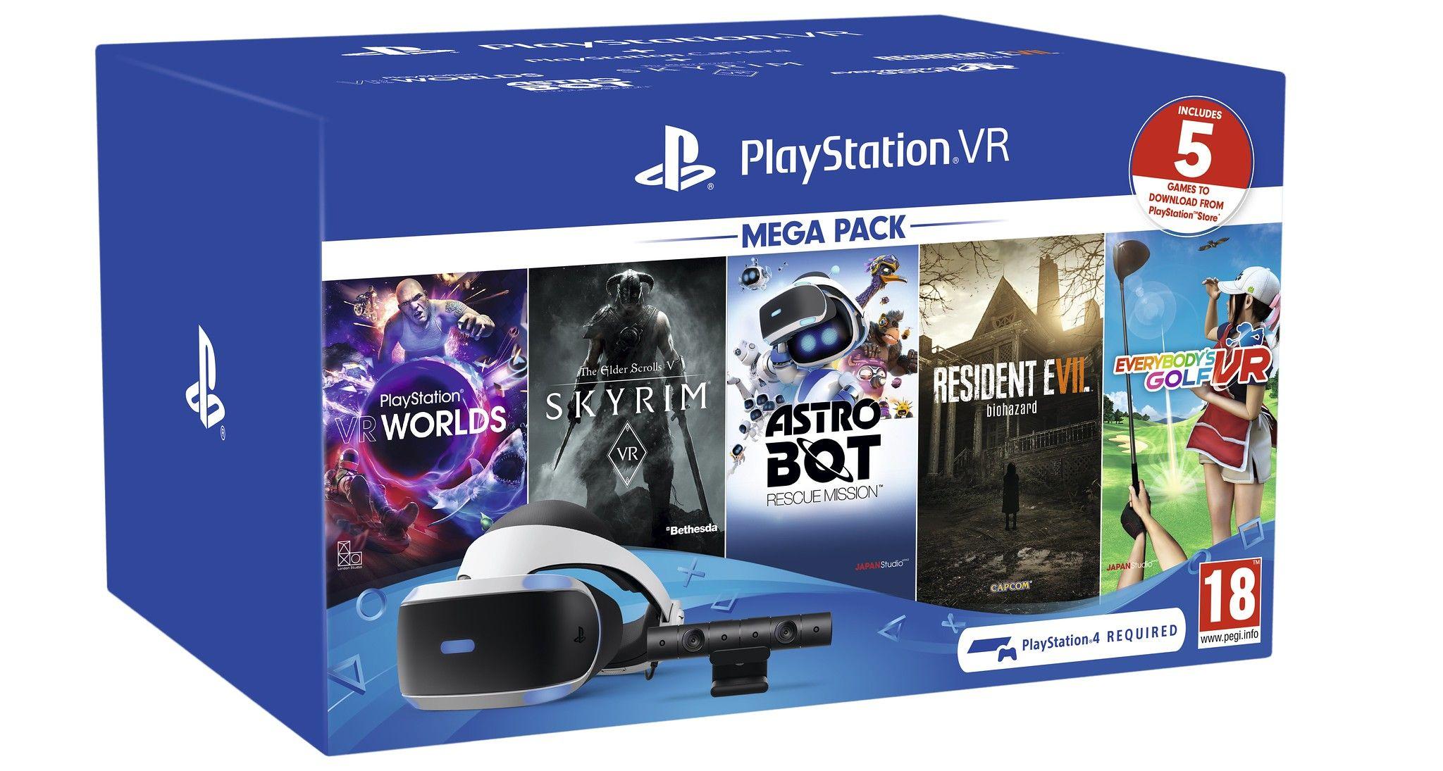 Sony Ps Vr Megapack - £189.40 @ Amazon Spain