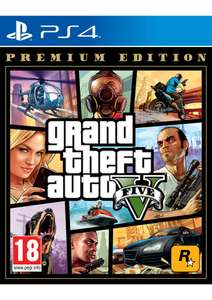 Grand Theft Auto V (GTA 5): Premium Edition [PS4] for £14.99 Delivered @ Simplygames
