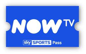 Now TV Sky Sports Month Pass still £16.99 with code @ Now TV