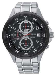 Seiko Black Dial Mens Stainless Steel Strap Watch SKS633P1 - £49.99 @ Argos (Free Click & Collect)