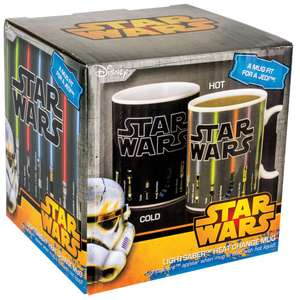 Star Wars Heat Activated Lightsaber Mug £7.20 - Free Click & Collect @ Menkind