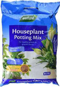 Westland Houseplant Potting Compost Mix and Enriched with Seramis, 8 Litre now £3.19 add-on item at Amazon