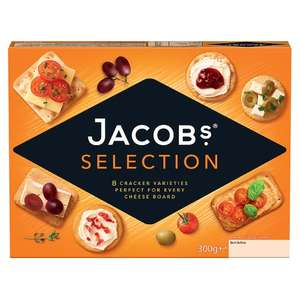 Jacobs Biscuits for Cheese 300g - £1.25 Instore @ Co-Op (Bridge of Earn)