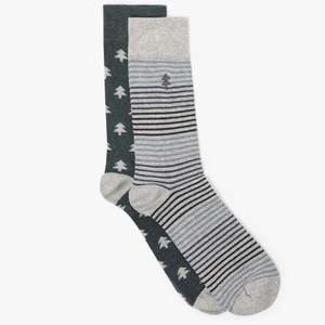 John Lewis & Partners - Christmas Socks - £2.40 + £2 C&C