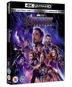 Avengers: Endgame (4K Ultra HD + Blu ray) [UHD] - £5.99 Delivered @ Zoom/eBay