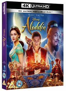 Aladdin 4K Ultra HD & Blu Ray - £5.99 @ eBay / Zoom
