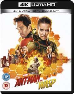Ant-Man and the Wasp (4K Ultra HD + Blu-ray) [UHD] - £5.99 @ eBay / Zoom