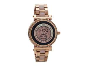 Michael Kors Womens Ladies Sofie Rose Gold Plated Gen 3 Smartwatch at Ebay/F.Hinds for £259.99