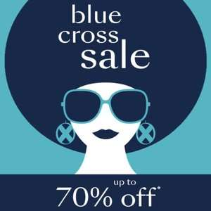 Debenhams up to 70% off Blue Cross sale including christmas gifts - Free Click and Collect and Delivery