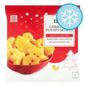 Frozen Christmas Potato Shapes 500G - 25p @ Tesco Instore
