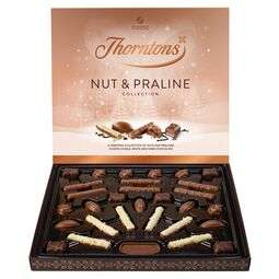 Thorntons chocolate selections - £3.60 (Christmas selection box - 3 for £9) + £3.95 delivery