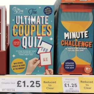 Tesco Xmas gifts - games now £1.25
