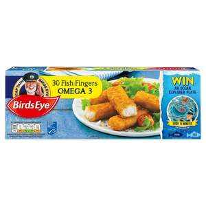 Birds Eye 30 Omega 3 Fish Fingers x TWO Packs - £5 at Farm Foods