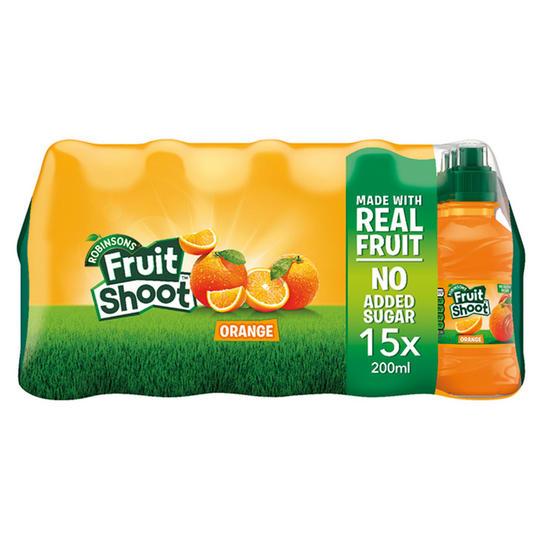 2 Packs of Robinsons Fruit Shoot 15 x 200ml £5 @ Iceland £5