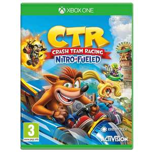 Crash Team Racing Nitro-Fueled for Xbox One / PS4 - £19.99 (free delivery for account holders and free click and collect) @ Smyths