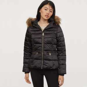 Padded hooded jacket £12 @ H&M - free click & collect for members / £3.99 delivery