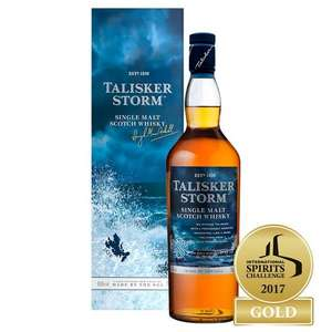 Talisker Storm Malt Whisky 70cl down to £30 @ Morrisons