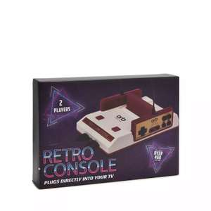 Retro arcade console. Plays nes cartridges and comes with 400 game cartridge - £10.50 Delivered Next Day using code @ Debenhams