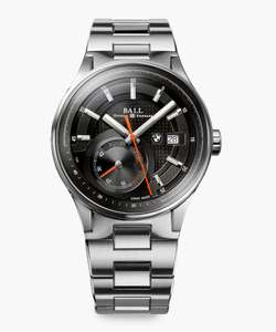 Ball BMW Power Reserve Black Dial Stainless Steel - £1048.60 @ Secret Sales