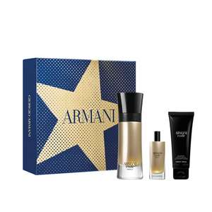 Armani Code Absolu Gift Set - 60ml EDP, 15ml EDP, 75ml Shower Gel now £41 delivered with code @ The Fragrance Shop
