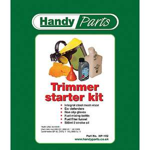 The Handy Trimmer Starter Kit 6 Piece - £5 or Handy Lawnmower Accessories Starter Kit - £7 @ Wickes (Free click and collect)