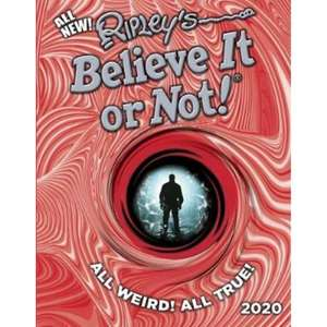 Ripley's Believe It or Not 2020 book - instore only at The Works - £5