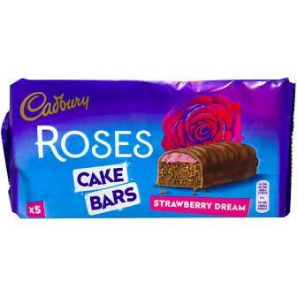 5 bar pack Cadbury roses cake bars strawberry dream and orange creme - 49p @ Heron Foods (Sunderland)