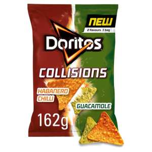 Doritos heat and collision - big bags (162g) 75p @ co-op