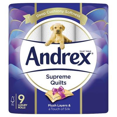 Andrex Supreme Toilet Tissue £3.80 @ Waitrose & Partners