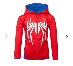 Official Marvel Spider-Man Kids Tech Hoodie (Sizes 3yrs up to 13yrs) £19.99 + Free Delivery @ Geekstore