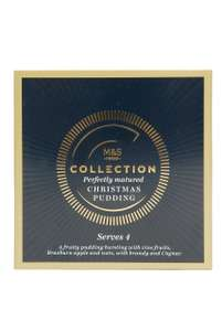 M&S Collection Christmas Pudding - Serves 4 - £1.63 (best before 26th Feb) - M&S Reading Station
