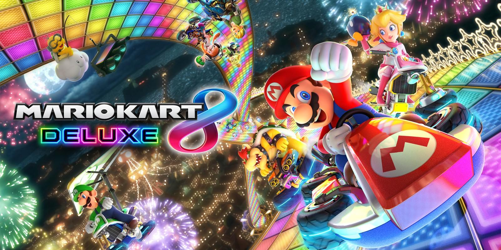 Mario Kart 8 Deluxe (Nintendo Switch) £33.29 @ Nintendo eShop
